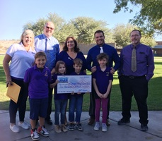 Arts in Mohave Valley Schools Receive Donation