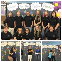 April Students of the Month at the Junior High!