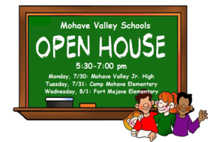 Open House Days and Times