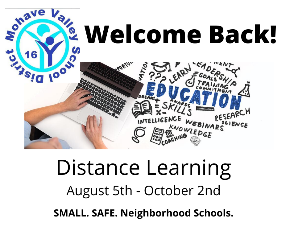 Welcome Back!  School Begins August 5th