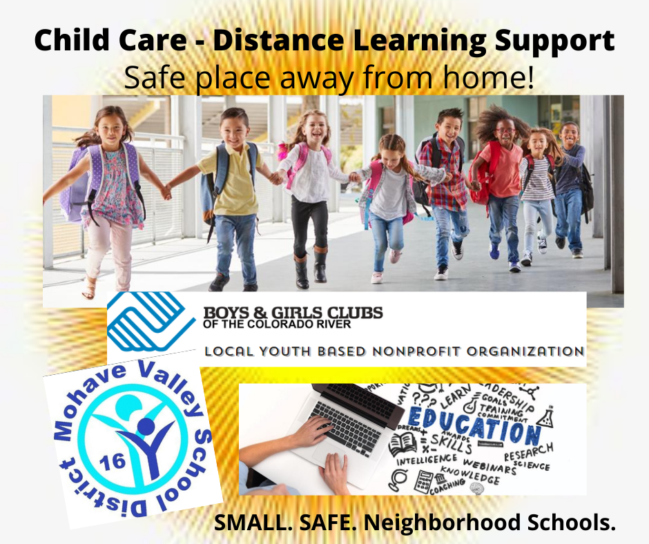 Child Care During Distance Learning - https://forms.gle/ZVXmwF3KKoXUyENVA