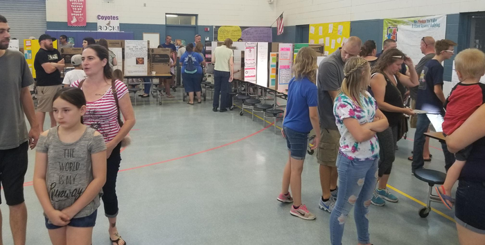 Science Fair 5-22