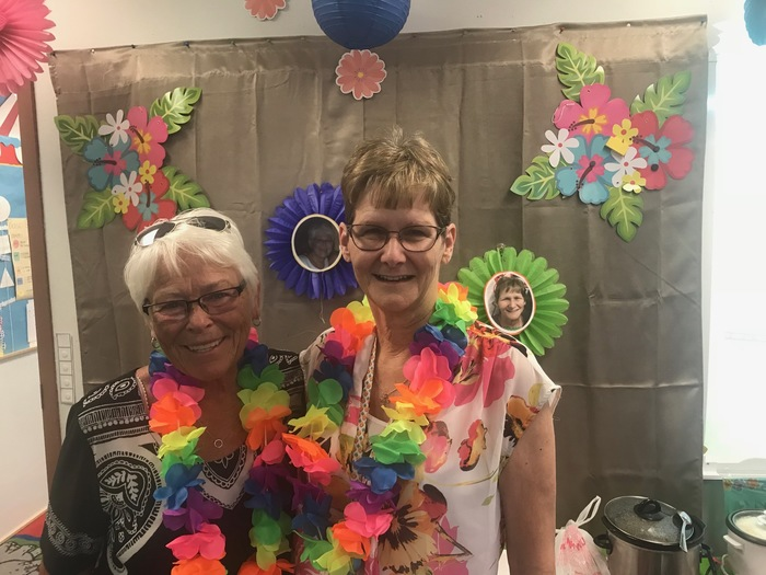 Retirement Luau!