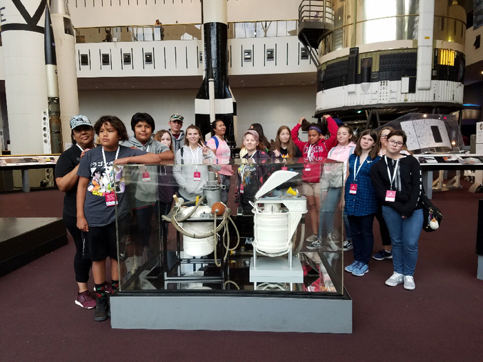 Visiting the Air and Space Museum