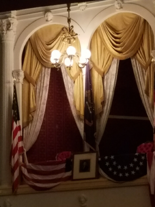 The presidential suite in Ford's Theater