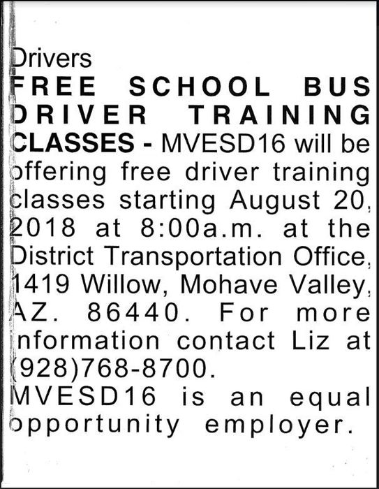 Help Wanted: Bus Drivers