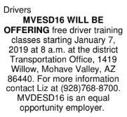 Help Wanted: Drivers, Teacher, and Tutor