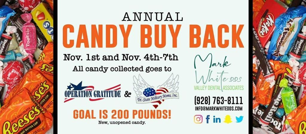 Candy buy back flyer