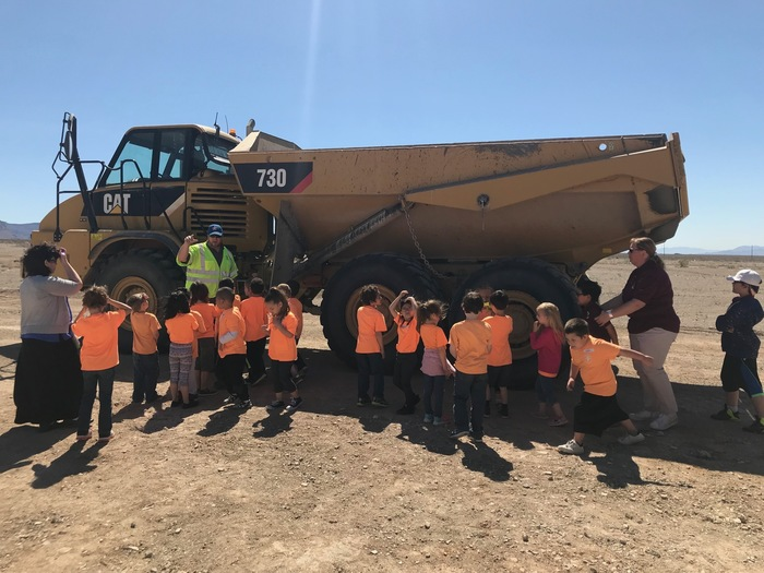 Learning about the Dump Truck!
