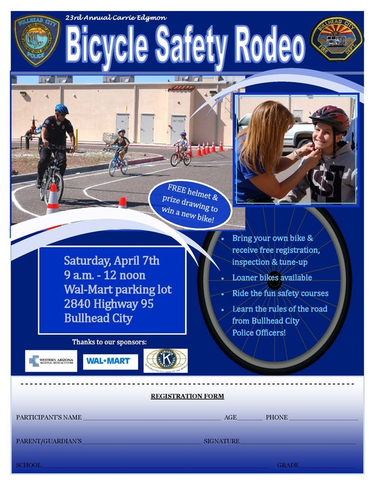 Bike Rodeo Flyer