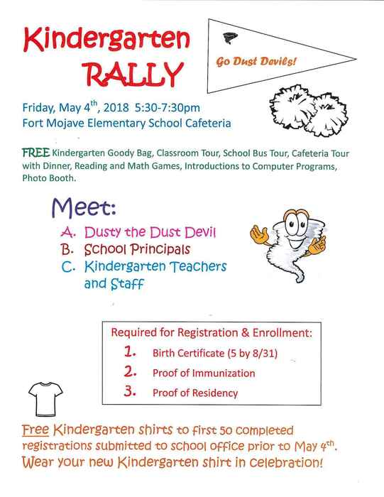 Kinder Rally May 4