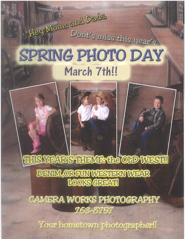 Camp Mohave Elementary Spring Picture Day